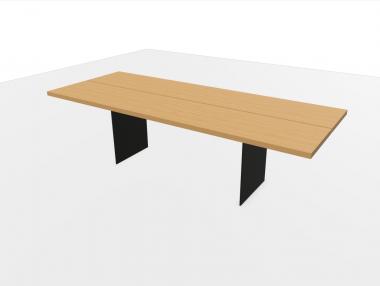 TIX Tisch von Zoom by Mobimex 260x100cm