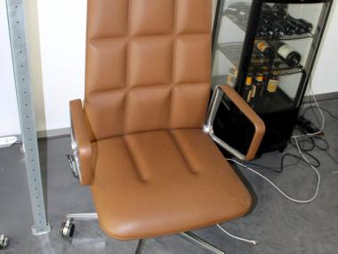 Luxus chefsessel  Vitra Luxus Chefsessel Schreibtischstuhl ID Trim L in Leder mit ...