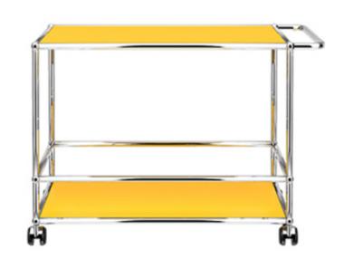 USM Haller Servierwagen gelb