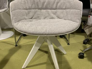 FLOW SLIM Chair  mit Armlehen von MDF Italia