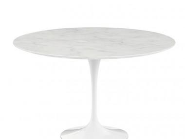 Saarinen Marmor Tisch, rund von Knoll International