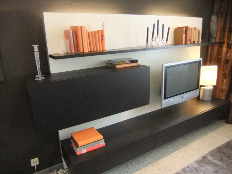 tv wandpaneel von wk wohnen designerm bel oberhausen. Black Bedroom Furniture Sets. Home Design Ideas