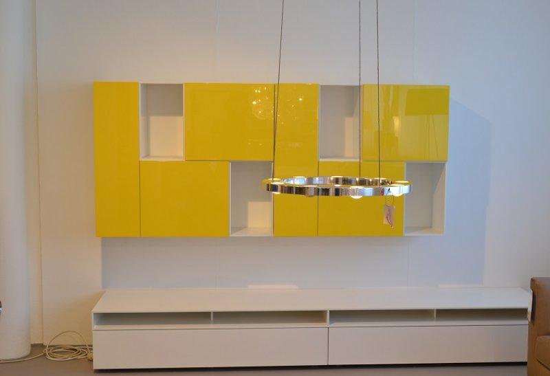 Wohnwand Kombination Interlübke Cube Change & Cube Fine ...