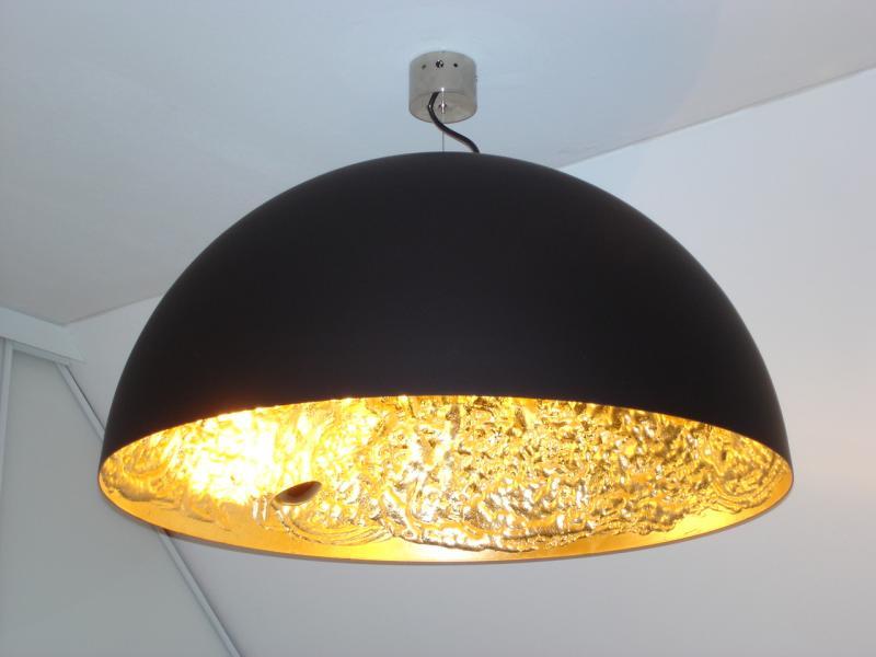 Stchu moon 02 gold deckenleuchte von catellani smith von for Wohndesign ellenberger