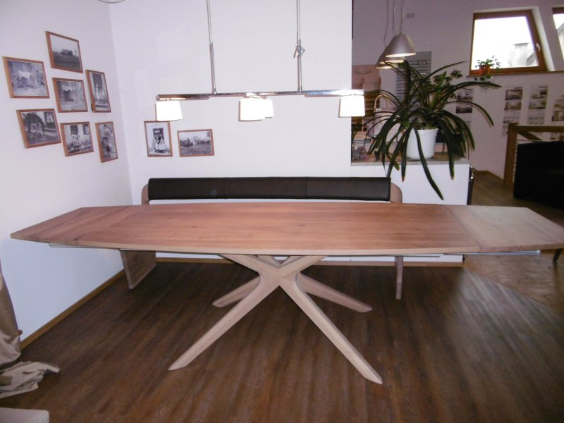 voglauer esstisch v alpin in eiche altholz designerm bel. Black Bedroom Furniture Sets. Home Design Ideas
