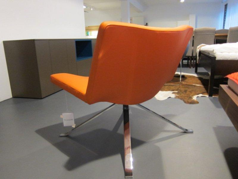 sessel wave leder orange von tonon designerm bel. Black Bedroom Furniture Sets. Home Design Ideas